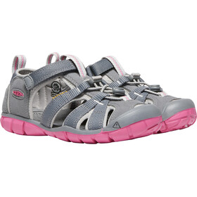 Keen Seacamp II CNX Sandals Youth Steel Grey/Rapture Rose